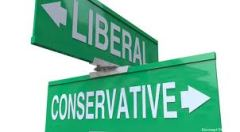 liberal and conservative