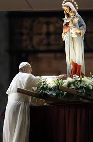 Pope and BVM