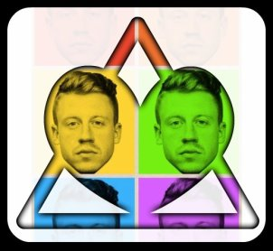 Mackelmore Rainbow triangle